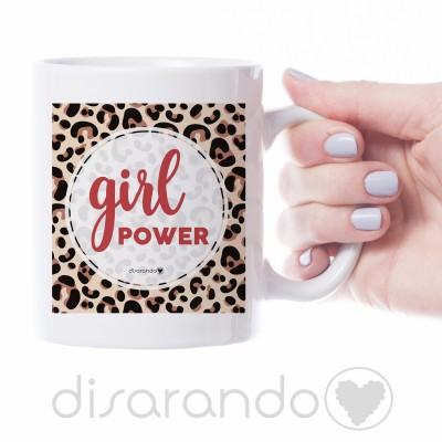 "Taza ""Girl Power"""