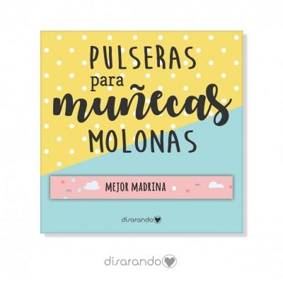 Pulsera mensaje Madrina
