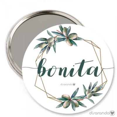 """Espejo """"Bonita"""""""