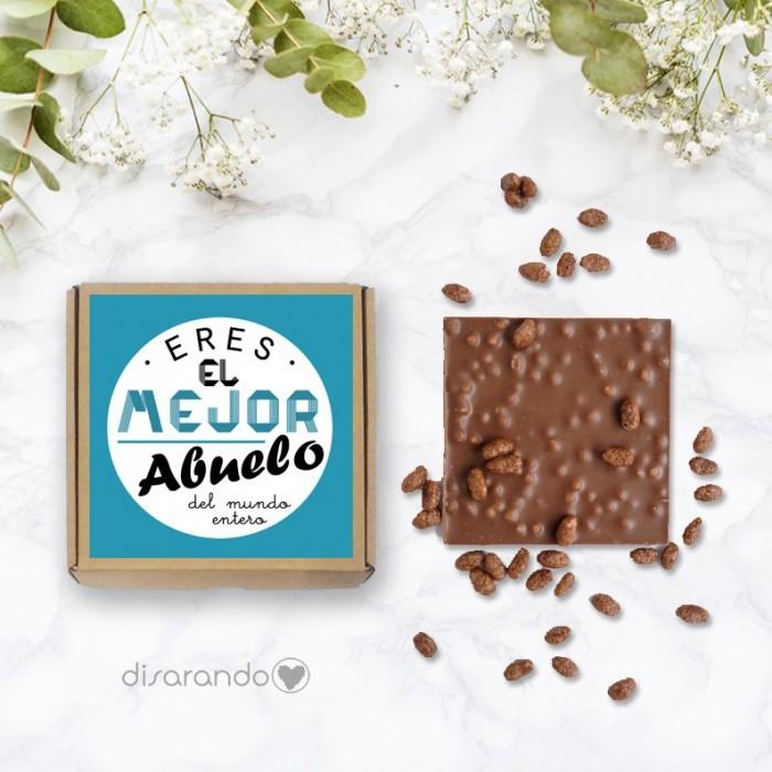 Tableta chocolate Mejor Abuelo