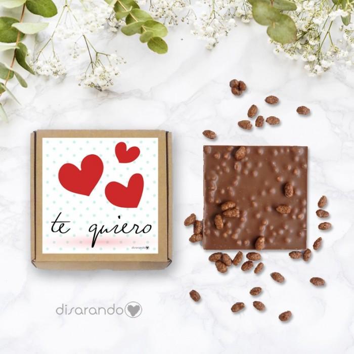"Tableta chocolate ""Te quiero"""