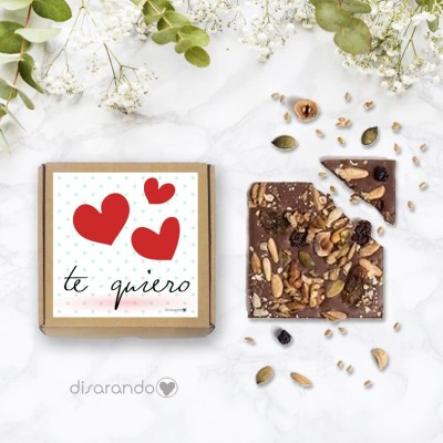 "Tableta chocolate ""Te quiero"""