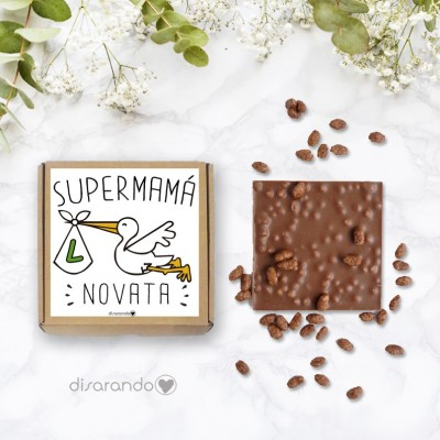 "Tableta chocolate ""Mamá Novata"""
