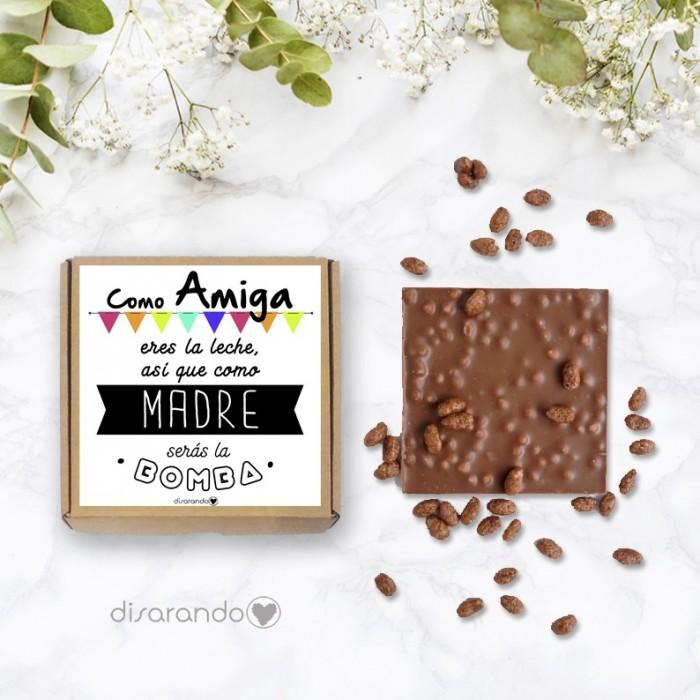 Tableta chocolate Mamá Novata