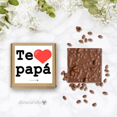 Tableta chocolate Papá
