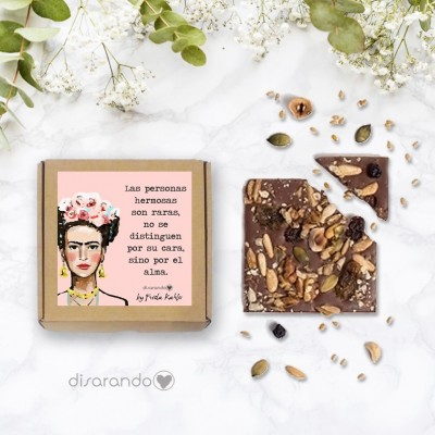 Tableta Chocolate Frida (Varias frases)