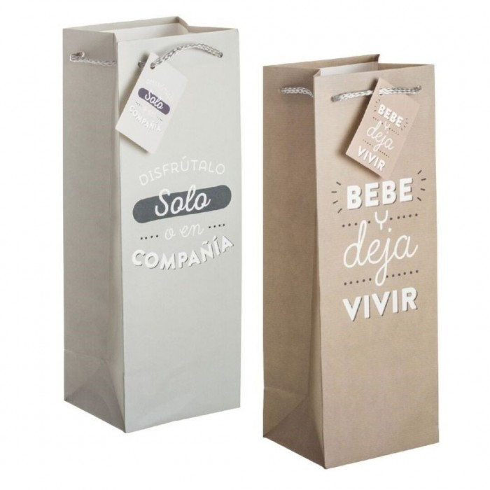 Bolsa regalo botella Vino