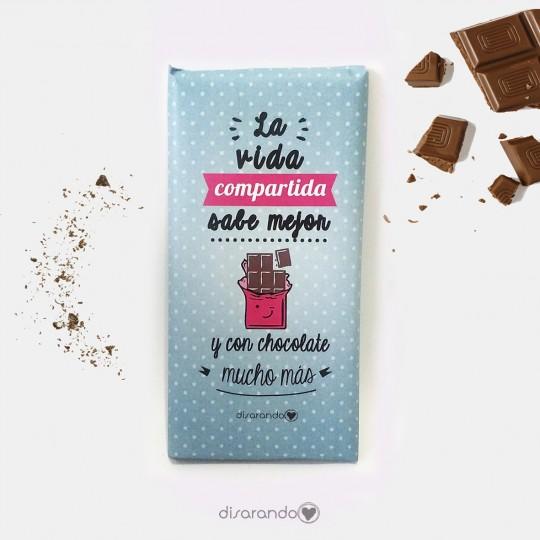 Chocolates Con Mensajes Tabletas De Chocolate Con Frases Positivas Mensajes