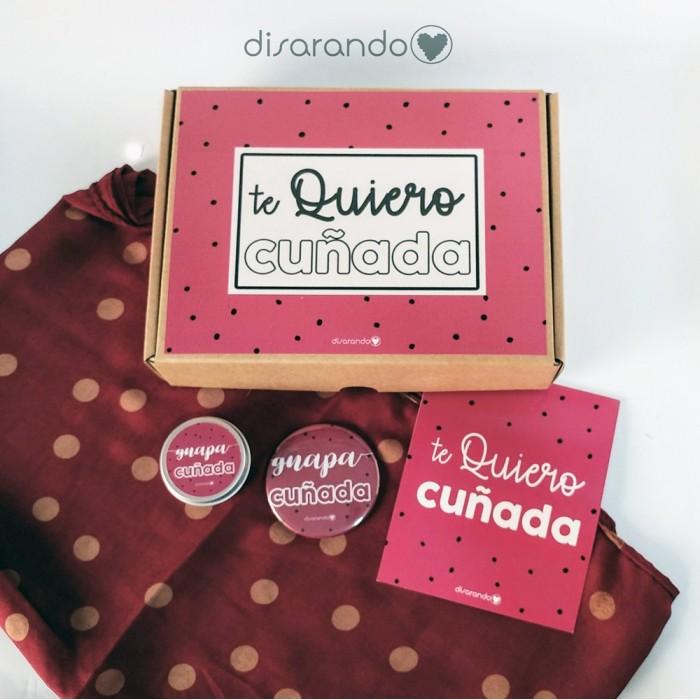 Kit Te Quiero Cuñada