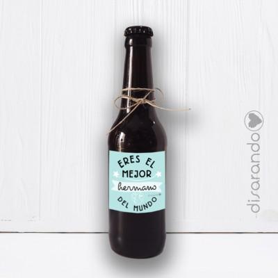 Botellín Cerveza Artesana Hermano