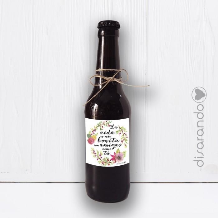 Botellín Cerveza Amiga