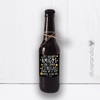 Botellín Cerveza Artesana Amigos