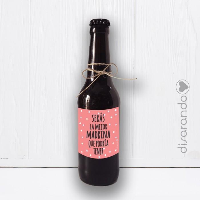 Botellín Cerveza Madrina