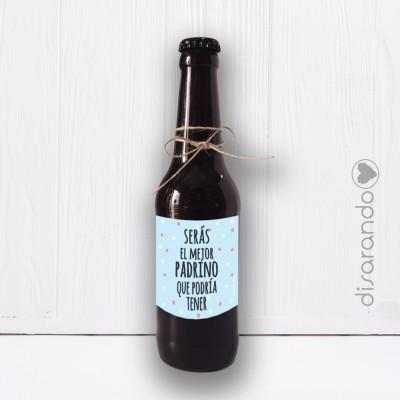 Botellín Cerveza Padrino