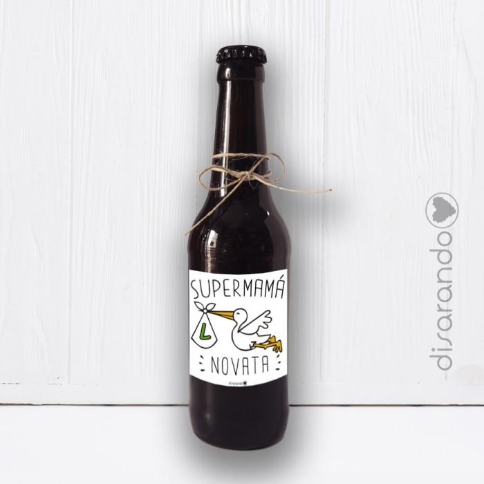 Botellín Cerveza Mamá Novato