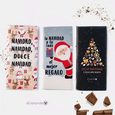Tableta Chocolate Navidad (Una unidad)